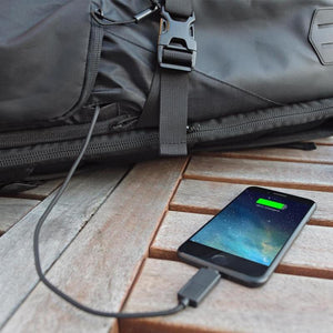Tahoe Weekender Pack--charging port