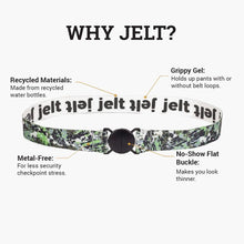 Load image into Gallery viewer, Jelt Digital Camo Elastic Belt--features