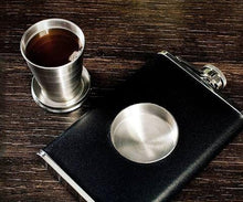 Load image into Gallery viewer, The Shot Flask--with filled shot glass