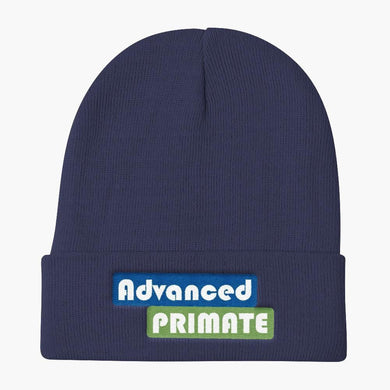 AP Dead Lift Knit Beanie--navy