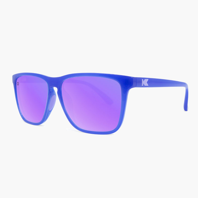 Knockaround Neptune Lilac Fast Lanes Sport Sunglasses--side view