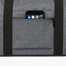 Load image into Gallery viewer, Carry On Duffel Bag--side pocket