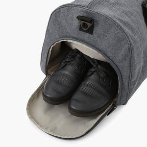 Carry On Duffel Bag--shoe pocket