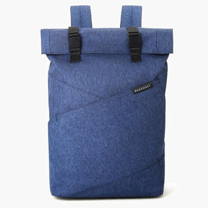 East Coast Laptop Rucksack--Blue