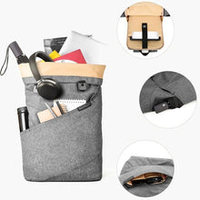 Load image into Gallery viewer, East Coast Laptop Rucksack--Gray--filled