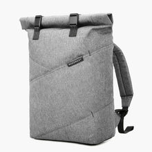 Load image into Gallery viewer, East Coast Laptop Rucksack--Gray--angled view