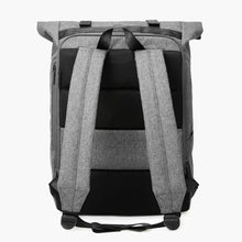 Load image into Gallery viewer, East Coast Laptop Rucksack--Gray--back