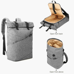 East Coast Laptop Rucksack--Gray