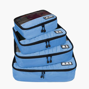 4-Piece Breathable Packing Cubes