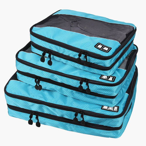 3-Piece Breathable Packing Cubes