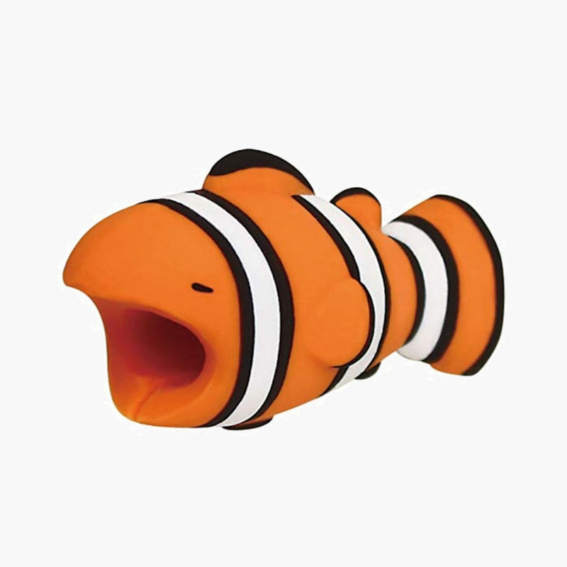 Cable Bites iPhone Lightning Cable Protector--clown fish