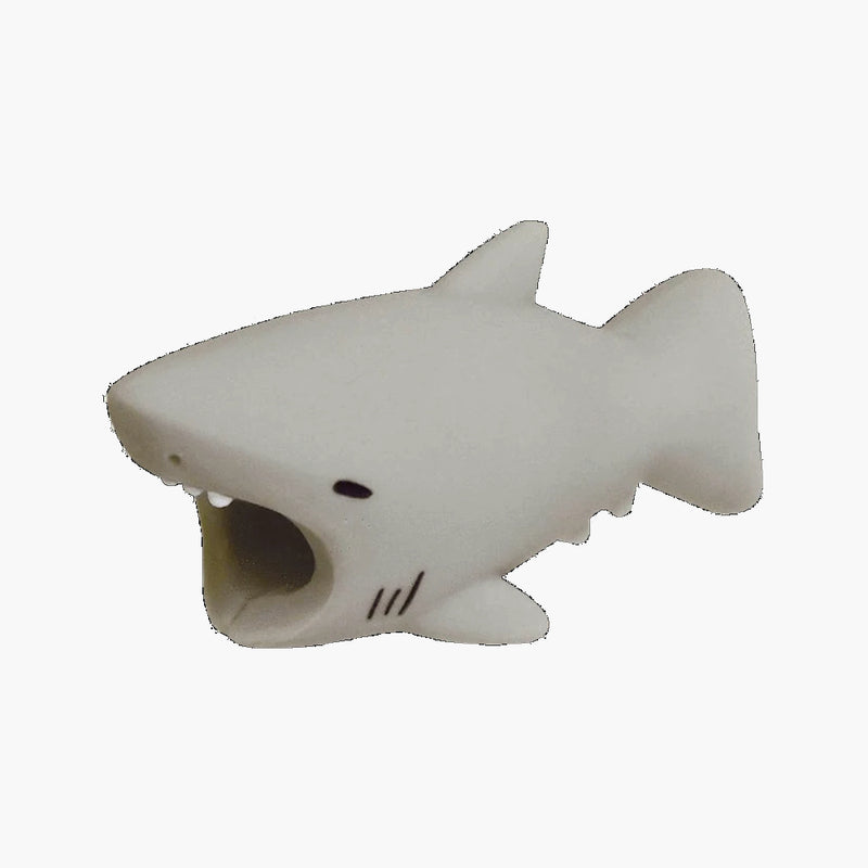 Cable Bites iPhone Lightning Cable Protector--great white shark