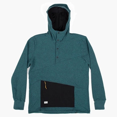 Deso Supply Co. Ropi Patina Snap Hoodie