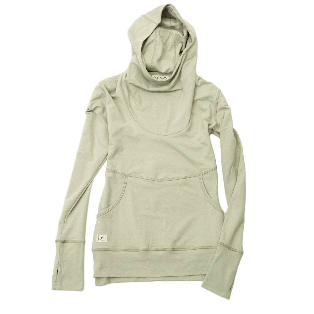 Deso Supply Co. Fontanillis Hoodie--Dusty Oil Green