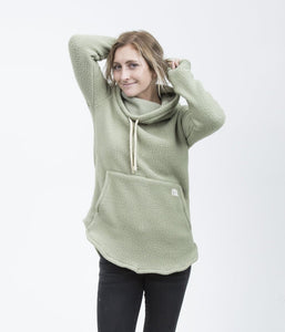 Tallac Oil Green Pullover