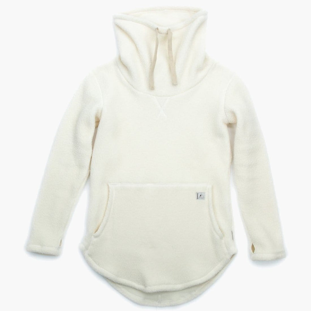 Sherpa Tallac Winter White Pullover