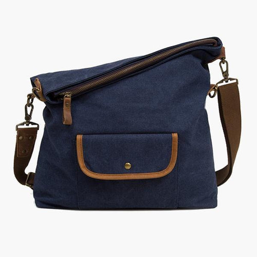 Hobo Canvas Messenger Bag