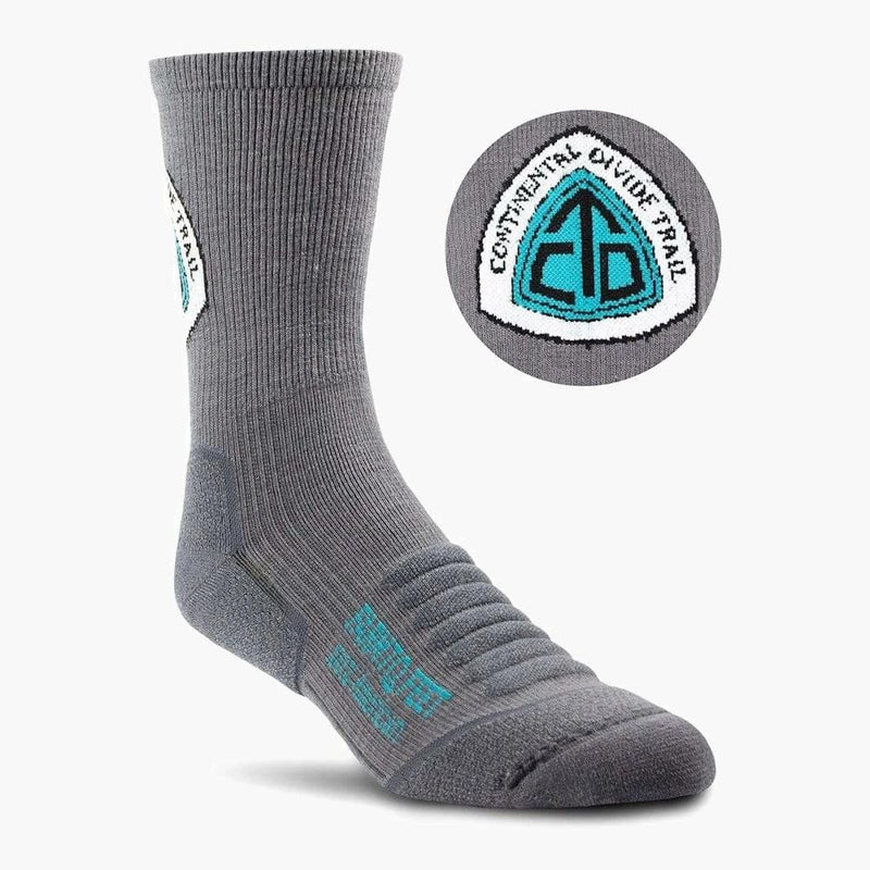 farm to feet grays peak continental divide trail 3/4 crew sock--main view