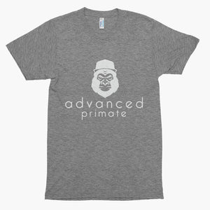 Advanced Primate Gorilla Soft Tee--Athletic Grey