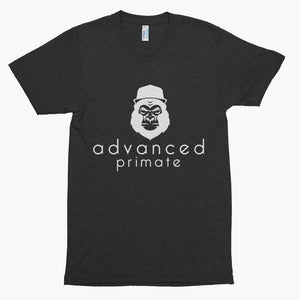 Advanced Primate Gorilla Soft Tee--Tri-Black