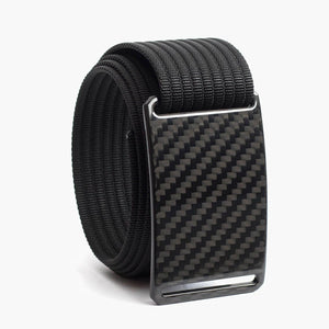 Grip6 Men's Carbon Fiber Belt--black