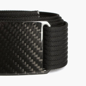 Grip6 Men's Carbon Fiber Belt--close up
