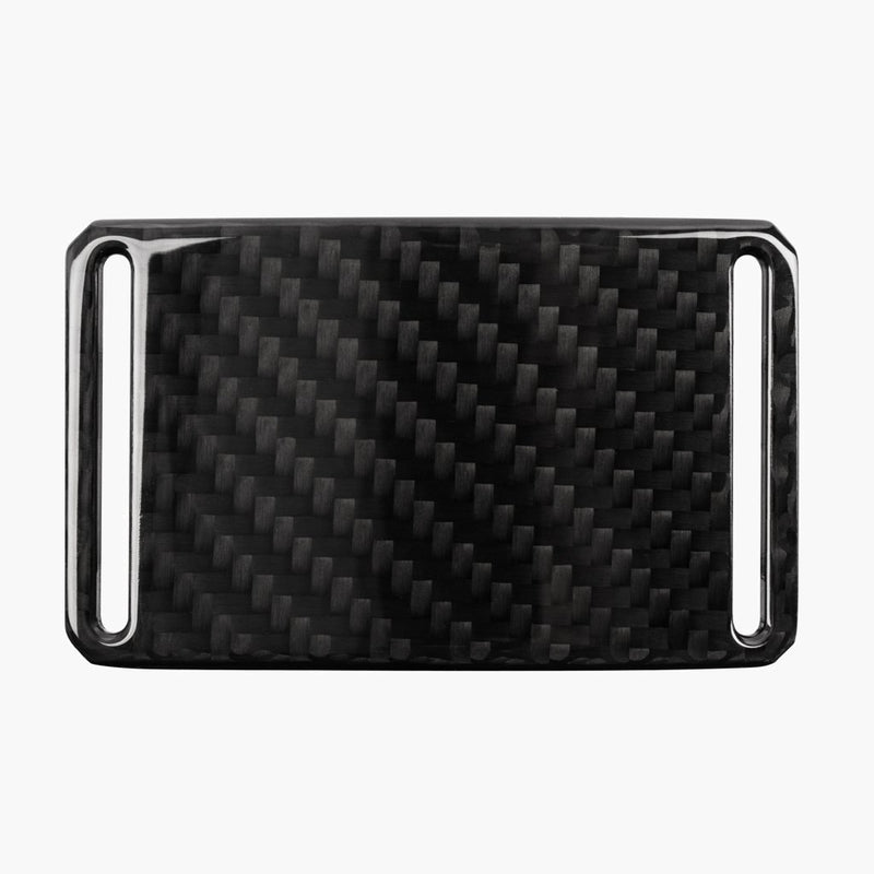 Grip6 Men's Dark Matter Carbon Fiber Belt Buckle