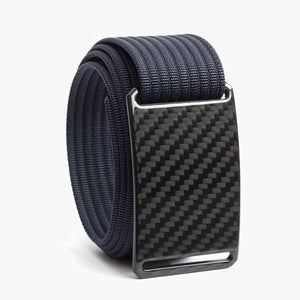 Grip6 Men's Carbon Fiber Belt--navy