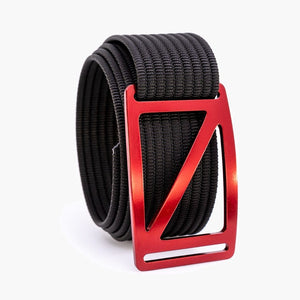 Grip6 Men's Slope Ember Belt--black
