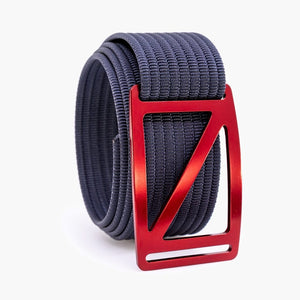 Grip6 Men's Slope Ember Belt--navy