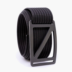 Grip6 Men's Slope Gunmetal Belt--black