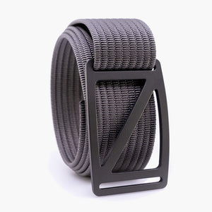 Grip6 Men's Slope Gunmetal Belt--grey