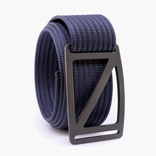 Load image into Gallery viewer, Grip6 Men's Slope Gunmetal Belt--navy