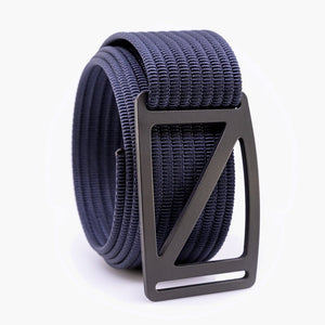 Grip6 Men's Slope Gunmetal Belt--navy