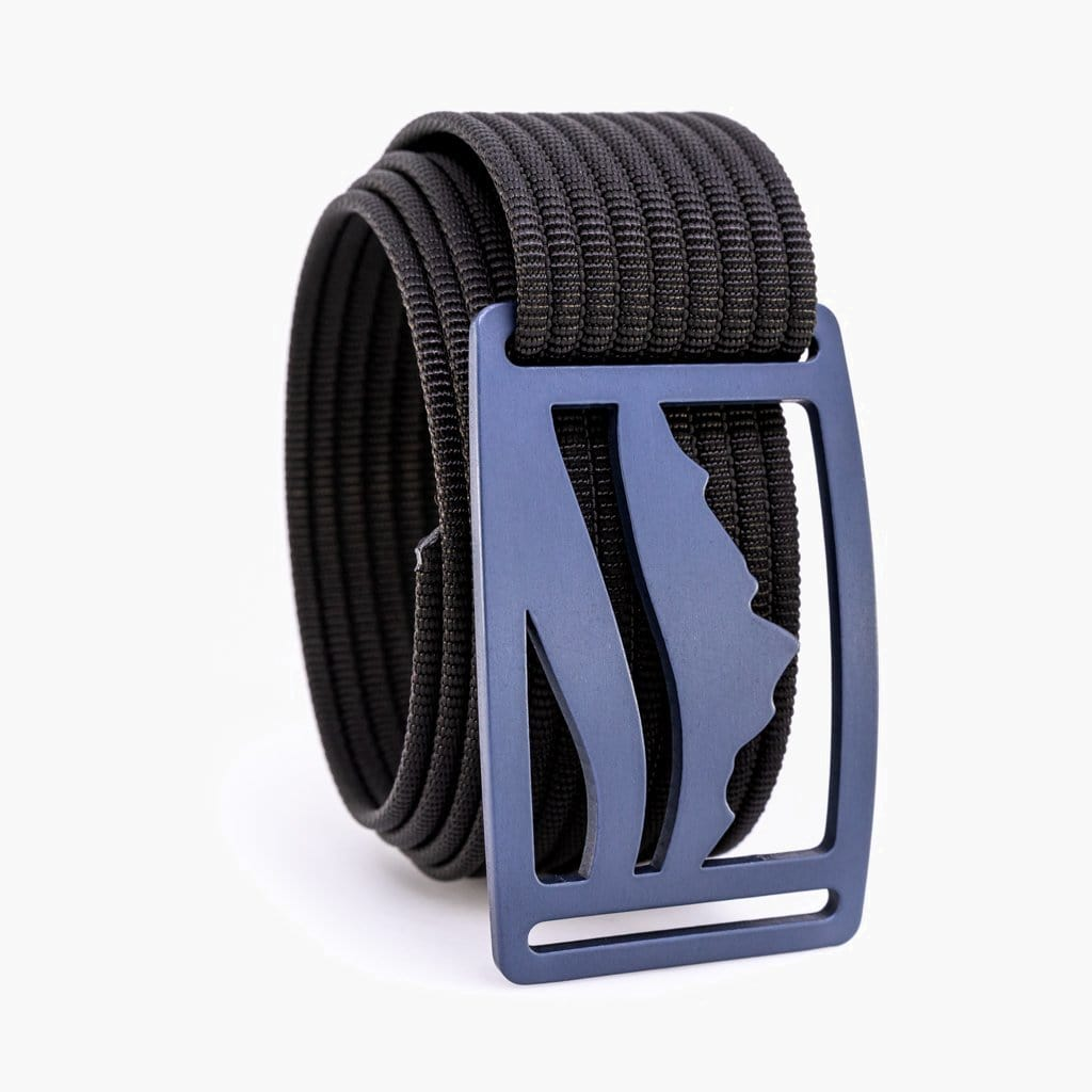 Grip6 Wasatch Blue Belt--black