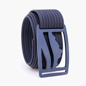 Grip6 Wasatch Blue Belt--navy