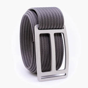 Grip6 Men's Horizon Granite Belt--grey