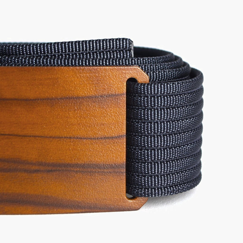 Grip6 Men's Craftsman Olive Belt--close up