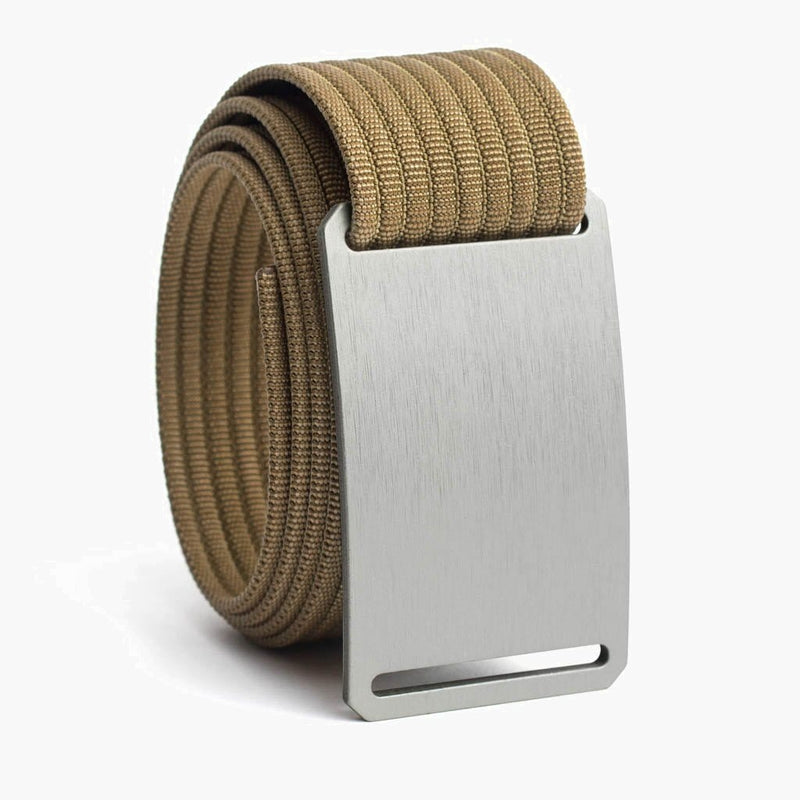 Grip6 Men's Classic Granite Belt--khaki