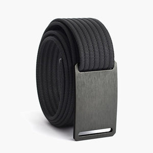 Grip6 Women's Classic Gunmetal Belt--black