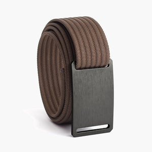 Grip6 Women's Classic Gunmetal Belt--mocha