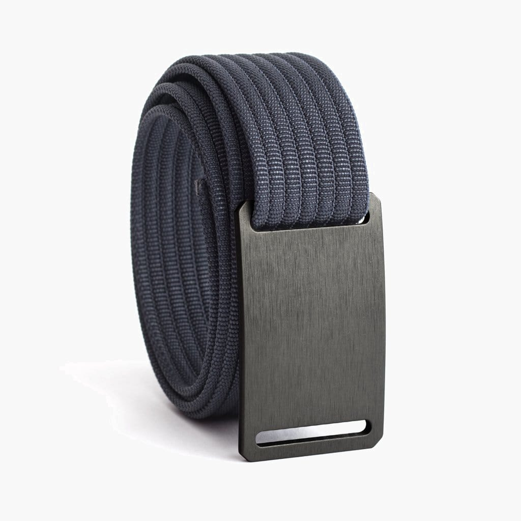 Grip6 Women's Classic Gunmetal Belt--navy