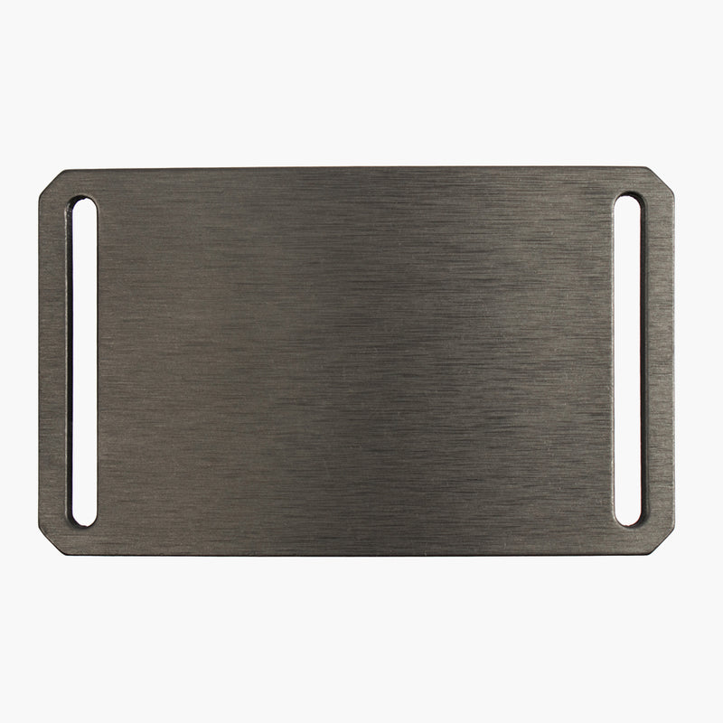Grip6 Men's Classic Gunmetal Belt Buckle