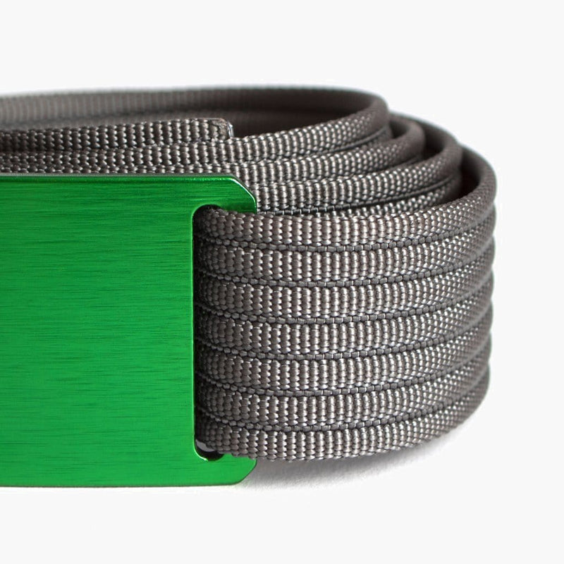 Grip6 Women's Classic Moss Belt--close up