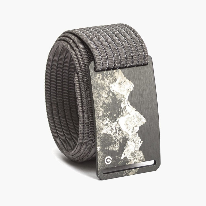 Grip6 Men's Mountain Teton Belt--Grey