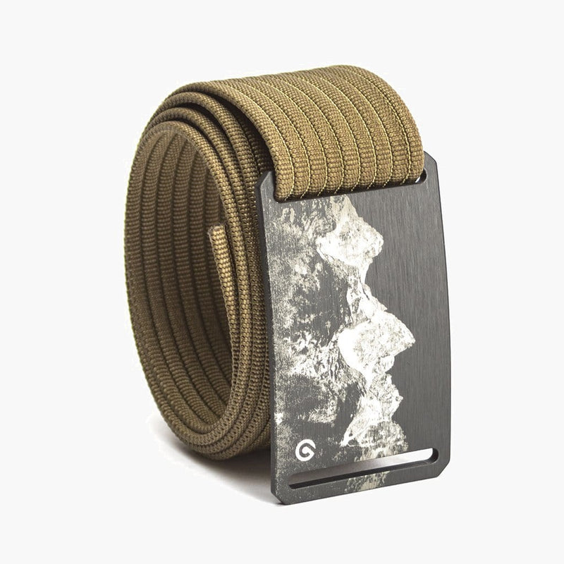 Grip6 Men's Mountain Teton Belt--khaki