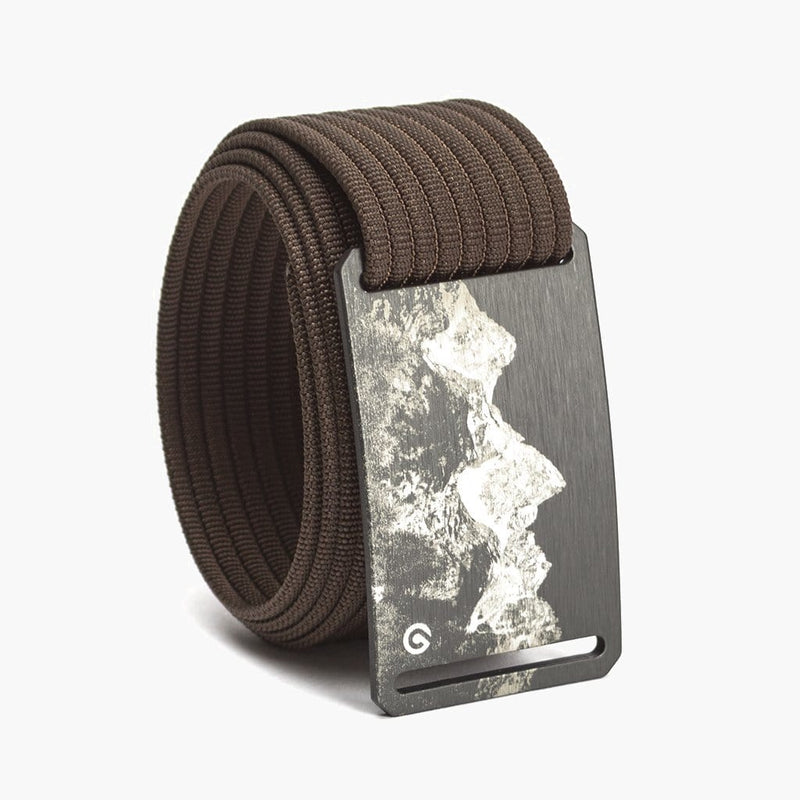 Grip6 Men's Mountain Teton Belt--mocha