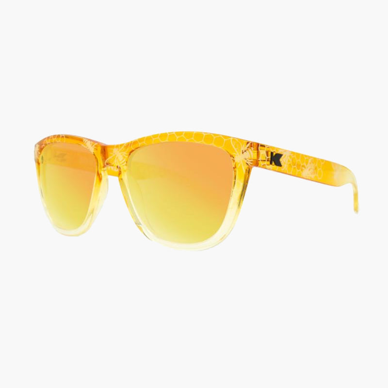 Hive Mind Premiums Knockaround Sunglasses--side view