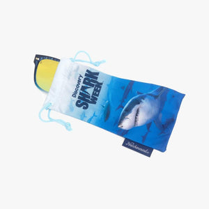 Knockaround Discovery Channel Shark Week Sunglasses 2020--commemorative pouch