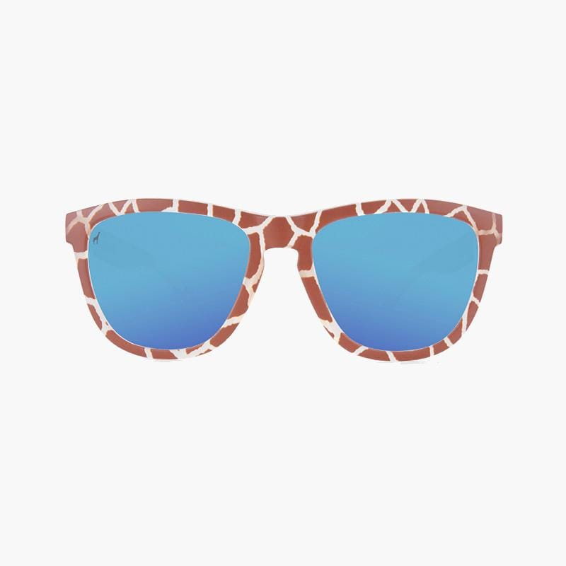 Knockaround Reticulated Giraffe Limited Edition Sunglasses--front view
